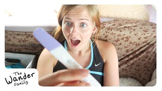 SHOCKING PREGNANCY TEST REACTION! - Pregnant Living in a Van | The Wander Family