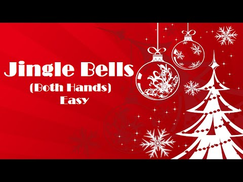 Jingle Bells Easy Piano Tutorial - How To Play