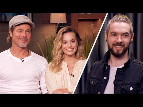 Brad Pitt and Margot Robbie Made Me NERVOUS!