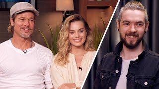 Brad Pitt and Margot Robbie Made Me NERVOUS!