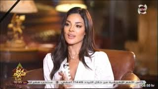 أحلى النجوم نادين نجيم تهنى تيم حسن و تتمنى العمل مع محمد رمضان