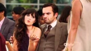 Nick makes his ex jealous (New Girl S01E03)