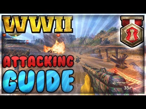 CoD WW2: Operation Neptune War Mode Guide / Tips (Attacking)