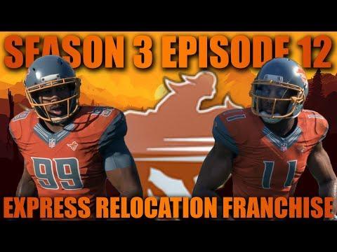 Most Intense Game Ever! Madden 18 San Antonio Express Relocation Fantasy Franchise! Week 12