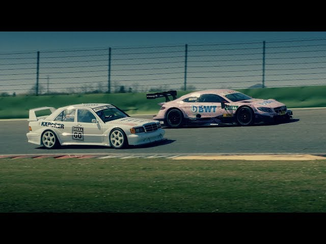 50 Years Merc-AMG: Past & Present DTM Legends Meet