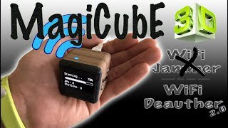 📡🇬🇧  MagiCube WiFi Deauther / (WiFi Jammer) [4K - UHD] 🇬🇧📡