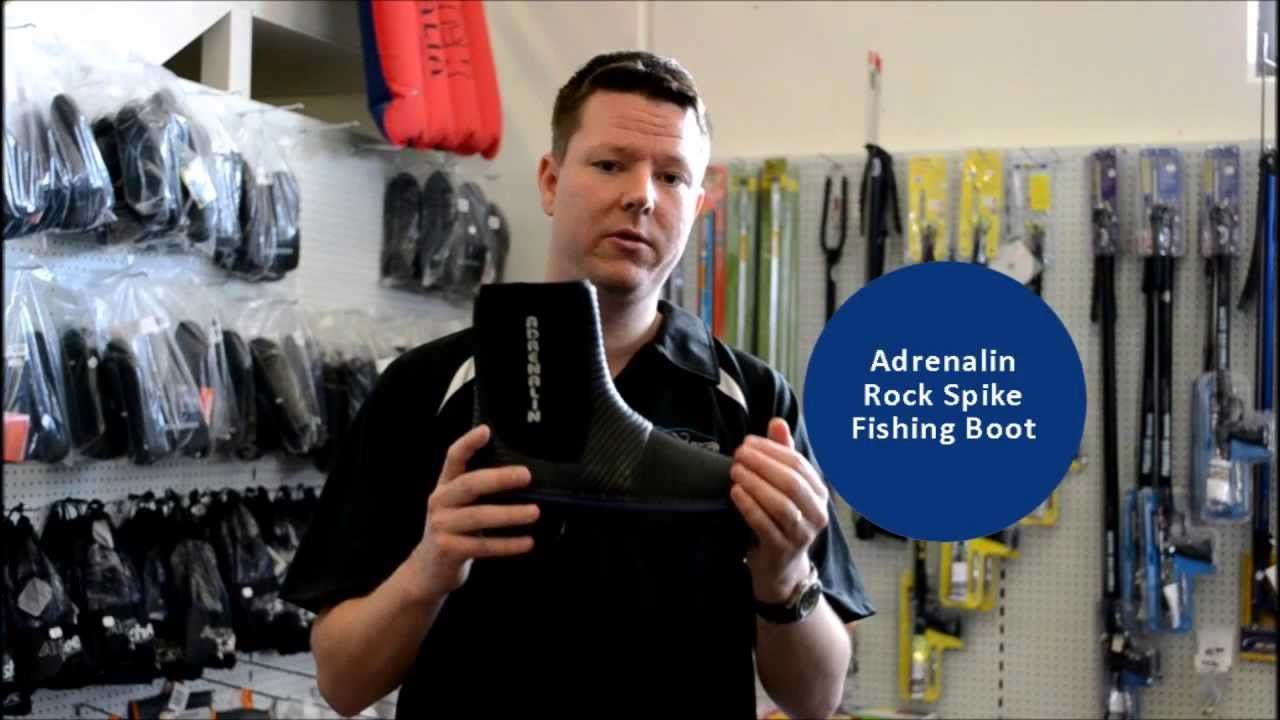 Adrenalin Rock Spike Boots - Fishing
