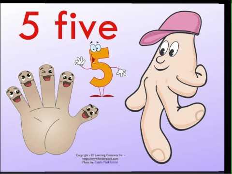 Preschool-Kindergarten Math Numbers Song