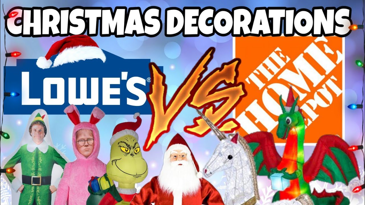 Is Lowes Open On Christmas Day.Christmas Decorations Lowes And Home Depot Inflatables Singing Toys Shopping 2018 Christmas2018