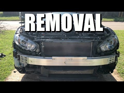 Easy way to take off the front face of your 10th gen civic