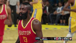 NBA 2k15 with partial 2k18 rosters (PC version) XFX R7-360 2GB / GDDR5... High Settings