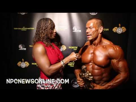 2017 NPC Masters Nationals Over 50 Overall Bodybuilding Winner Jeff Williamson