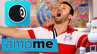 Como funciona o App AmpMe. Este APP é genial!