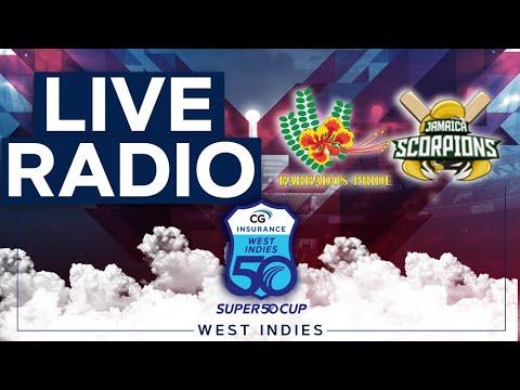 🔴LIVE RADIO Barbados vs Jamaica | CG Insurance Super50 Cup