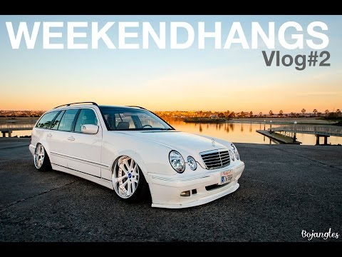 E55 AMG V8 SWAPPED E320 S210 WAGON. WEEKENDHANGS #2