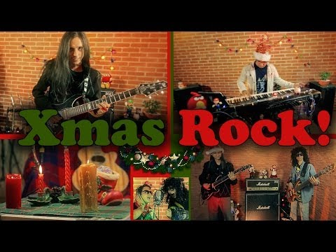 ★ Christmas Rock - (Silent Night / We Wish You A Merry Christmas) Metal Cover