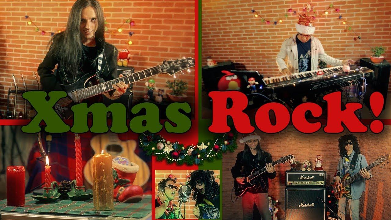 ☆ Christmas Rock - (Silent Night / We Wish You A Merry Christmas ...