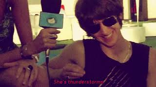 Arctic Monkeys - She's Thunderstorms [Lyric Video]