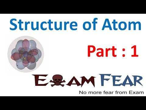 Chemistry Structure of Atom part 1 (Introduction, History) CBSE class 9 IX