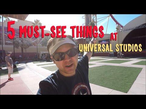 5 Must-See Things at Universal Studios Orlando