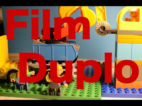 La Nuova Casa - Lego Duplo Film - Set costruzioni grande cantiere - Trattori