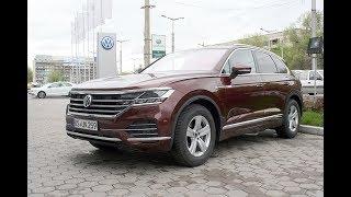 Новый VW Touareg в Алматы.