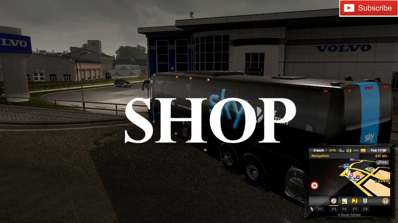 Ets 2-Location Of Volvo Bus In The Game Ets2Indian Volvo -3257