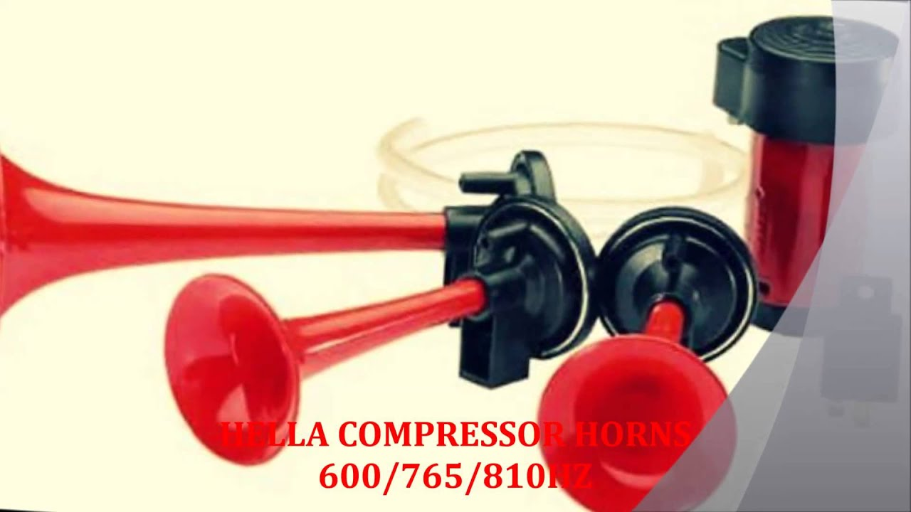 Ijakudus Ija Automotive Supermarket Ijacc Hella Air Pressure Klakson Denso Waterproof Relaykabelsekring Compressor Horns 12v Youtube