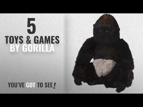Top 10 Gorilla Toys & Games [2018]: Wild Republic Silverback Gorilla Plush, Stuffed Animal, Plush