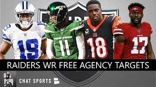Raiders Free Agent Targets: Wide Receivers The Las Vegas Raiders Could Sign In 2020 NFL Free Agency