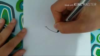 Drawing 'Gin' From 'Hotarubi No Mori E'