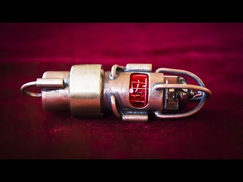 How To Make A Steampunk USB Flash Drive #1 - Part 2 - Making The Cap And Installation All Components