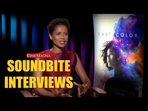 Fast Color Movie In-depth Interview With Gugu Mbatha-Raw (2019)