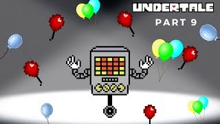 Let's Play Undertale Part 9: Mettaton's Game Show