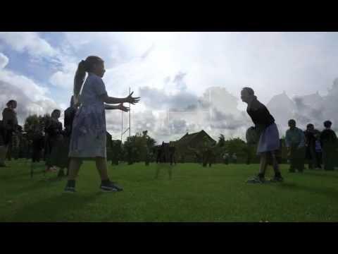 Rugby Power Pass at Gresham Prep School