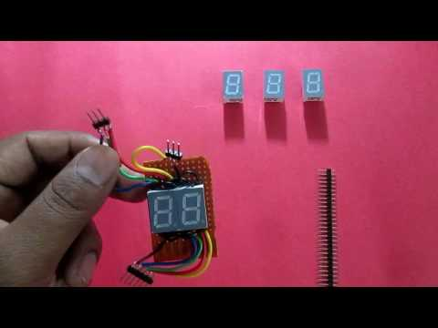 how to control 2 or more digit 7 segment display in hindi (basics concept)