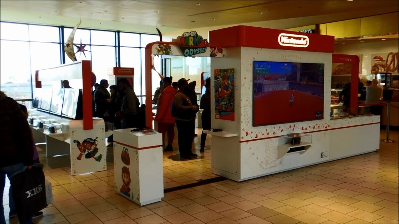 Nintendo Holiday Mall Experience 2017 at Queens Center in Elmhurst, New York