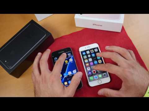 Apple iPhone 7 vs. Samsung Galaxy S7 összehasonlitó