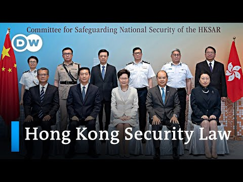 Hong Kong leader Lam announces to 'vigorously implement' new security law | DW News