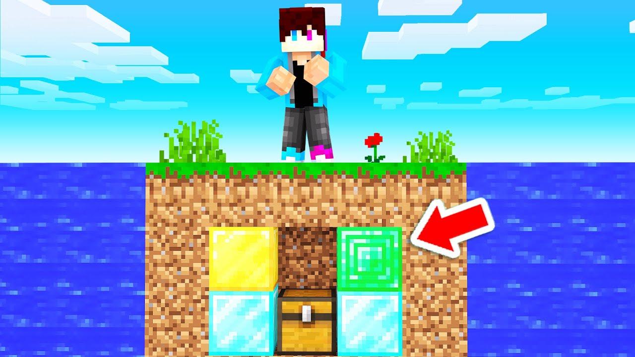 GEHEIME KLUIS Verstoppen Onder VERLATEN EILAND! (Minecraft Raft)