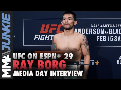UFC On ESPN+ 29: Ray Borg Media Day Interview