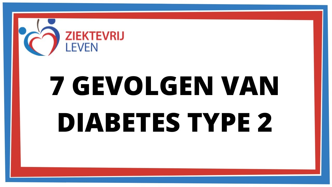 diabetes gevolgen tipo 1 en 2020
