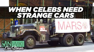 Renting strange cars to celebrities