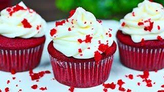SUPER MOIST RED VELVET CUPCAKES - How to make the best red velvet cupcakes recipe