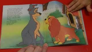 Doamna si Vagabondul editura Egmont, lectura de seara, Walt Disney