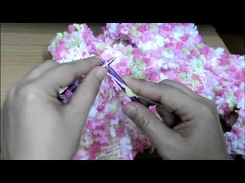 วิธีจบงานนิตติ้งถักผ้าพันคอ - How To End Knitting