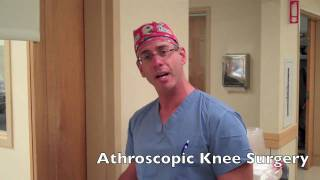 Welcome to my OR-Knee Arthroscopy