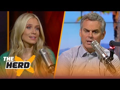 Derrick Rose is back with the Cavaliers - Kristine and Colin react | THE HERD