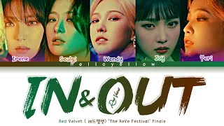 Red Velvet - In & Out Lyrics (레드벨벳- In & Out 가사) [Co…