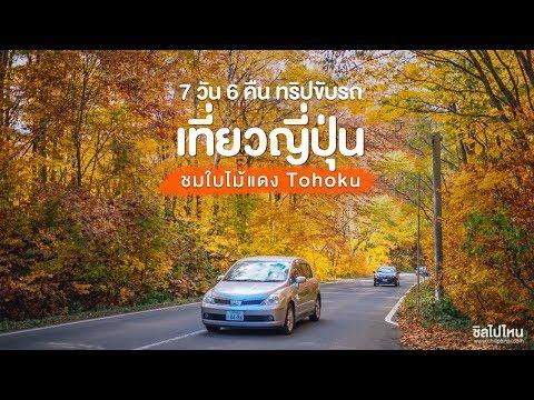 ทริปขับรถเที่ยวญี่ปุ่นชมใบไม้แดงด้วยตัวเอง ภูมิภาคโทโฮคุ (Tohoku) 7 วัน 6 คืน